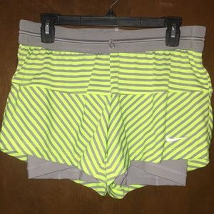 Nike 2 in 1 Workout Shorts. NWOT.